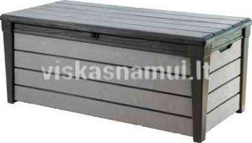 Daiktadeze Brushwood Storage Box 455l Antracitas Pilkas