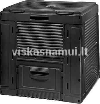 Komposto Deze Composter Without Base 470l Juodas